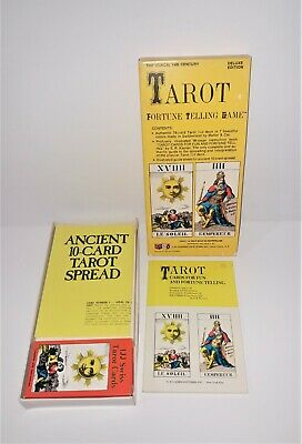 Tarot Fortune Telling Game | 1JJ Deck, Made in Switzerland | U.S. Game Sys. 1970