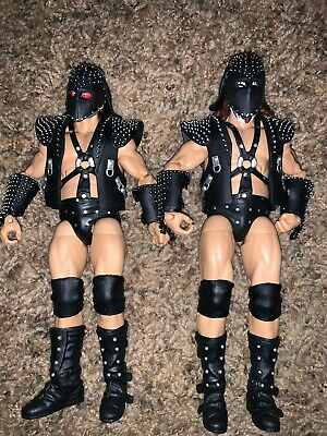 RARE WWE WWF Mattel Basic Elite figure Legends Series 4 Demolition Ax Smash