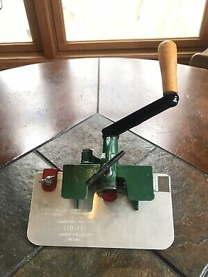 Vintage Rigby Cloth Stripping Machine Cutter Model H Made in USA Excellent
