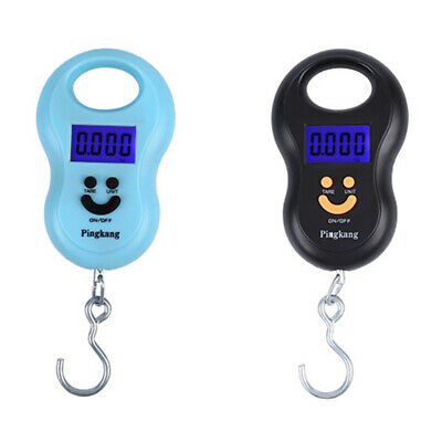 Mini Digital Scale 50kg Lcd Luggage Travel Electronic Hanging Weight Portable sh