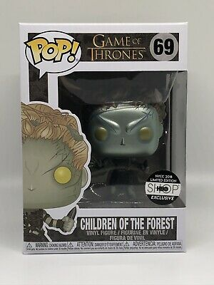 Funko Pop - Game of Thrones: Children of The Forest Metallic NYCC 2018 #69 HBO