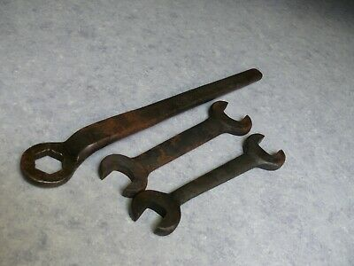 Antique Large Industrial Railroad / Mining Wrenches Steam Punk Art Raw Material