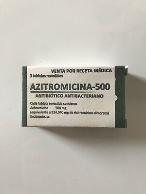 Azitromicina 500mg - Antibiótico Anti bacteriano