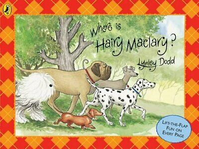 WHERE IS HAIRY MACLARY (HAIRY MACLARY AND FRIENDS) By Lynley Dodd - Hardcover VG