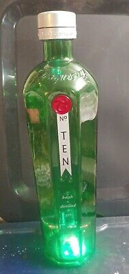 "Vintage 18"" Tanqueray No. 10 promotional 3L empty display Bottle"