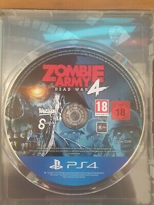 Zombie Army 4 Dead War (Disc Only) ps4