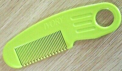 Baby Child Gentle Prong No Scratch Comb with Handle