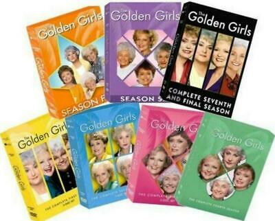 The Golden Girls Seasons 1-7 Complete Series (DVD Bundle Set) New! Ships Free!