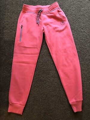 Girls Pink High Waist Converse Joggers Age 12-13 Years VGC