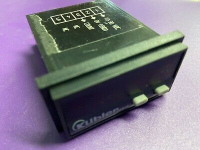 Kubler 6 Digit Frequency Meter , LED, Counter - Made in Germany