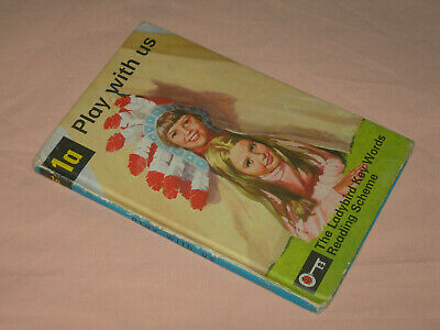 Play With Us 1A Ladybird Key Words Reading Scheme 24p