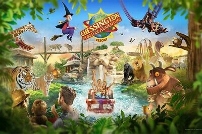 2, 4, 6, 8 Chessington Tickets - Booking Form and 9 Sun Tokens