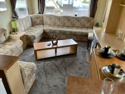 Starter holiday home with panel heating in rooms 6 berth Ayrshire Scotland