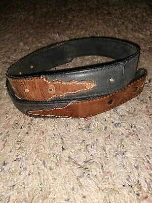 "Boy's or Men's Size 26 Leather Belt ""Silver Creek Collection"" No Buckle"