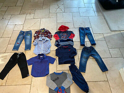 Boys Age 2-3 Bundle Jeans, Trousers, Joggers, Shirts, Tops 12 Items 💙