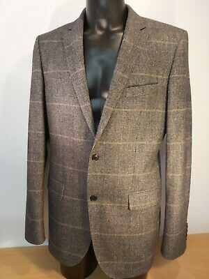 Hugo Boss Mens The Jam Wool Jacket Size 98 UK 40L Blazer New Without Tags