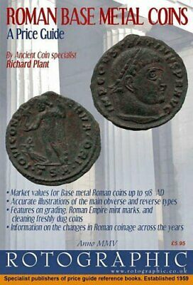 A PRICE GUIDE ROTOGRAPHIC ROMAN SILVER COINS RICHARD PLANT