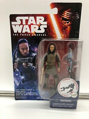 "Hasbro Star Wars The Force Awakens Tasu Leech 3.75"" Wave 2 New Kanjiklub Kenner"