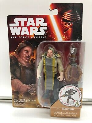STAR WARS The Force Awakens 3.75 inch Action Figure - UNKAR PLUTT - NEW KENNER