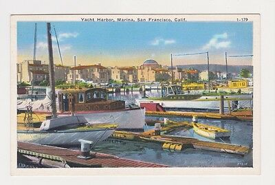 Yacht Harbor and Marina in San Francisco CA shows docked boats and buildings pc