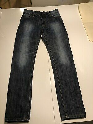 Next Boys Straight Leg Indigo Washed Jeans Age 10