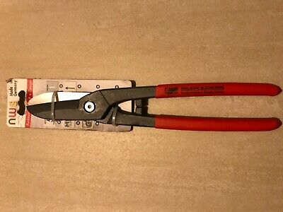 NWS Germany Gilbow Steel Tin Snips Cutters Shears 300mm