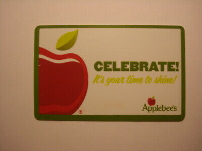 Applebee's Collectible Used Gift Card, NO VALUE
