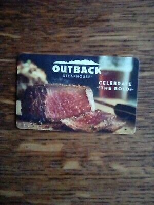 $50 Outback Steakhouse, Bonefish and Carrabba's (Instant Email or Mail Delivery)