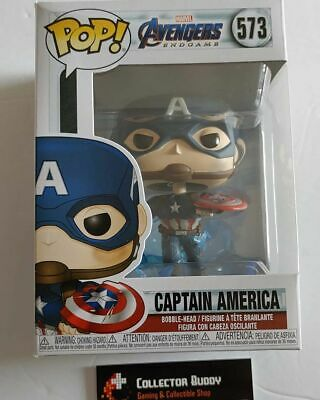 Funko Pop! Marvel 573 Avengers Endgame Captain America Broken Shield Pop FU45137