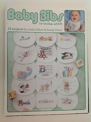 Baby Bibs To Cross Stitch - 25 Projects