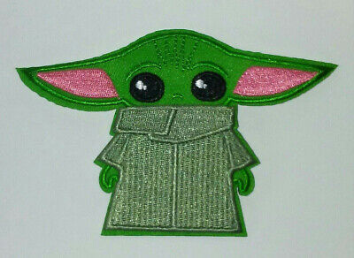 BABY YODA Embroidered Patch  - Iron/Sew - High Quality - Unique - The Child CUTE