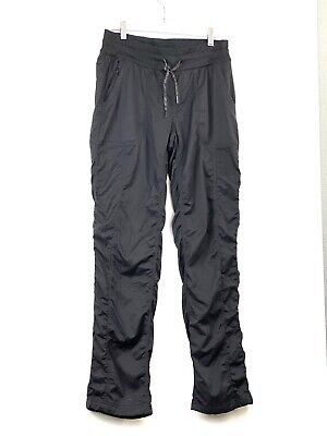 The North Face Women's Size Medium Black Athletic Pockets Pants RL100296