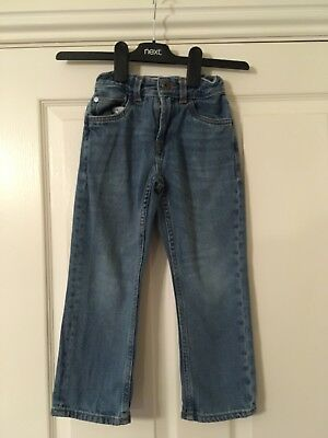 Boys Matalan Blue Denim Straight Leg Jeans Age 5 Years