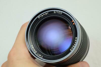 Carl Zeiss 100mm f/2 Planar T* for Contax/Yashica Cameras - MUST READ! (6219)