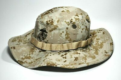 Usmc Us Marines Cover Bonnie Hat Desert Digital Marpat Small  Nwot