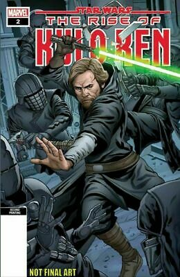 STAR WARS RISE OF KYLO REN #2 Marvel 2nd print variant COVER A
