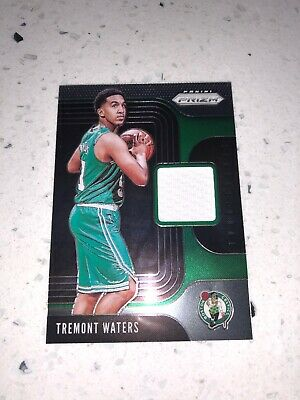 2019-20 Panini Prizm NBA Basketball Sensational Swatches Tremont Waters RC