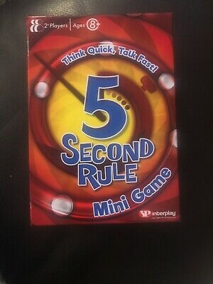5 Second Rule GF003 Mini Card Game