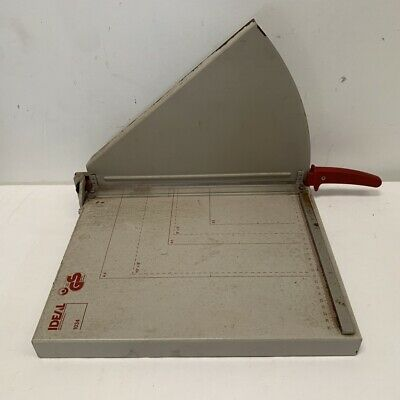 IDEAL 1034 PAPER GUILLOTINE German brand quality build