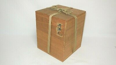Japanese Wooden Storage Box Paulownia Old Box container From Japan