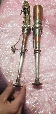 Vintage brass collectibles set of 2