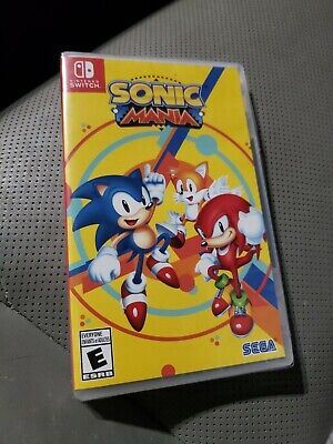 Sonic Mania Nintendo Switch Brand New and Sealed Region Free