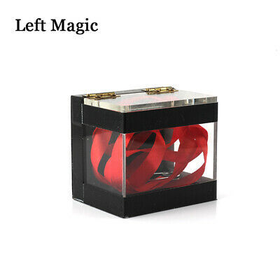 The Crystal Clear Switching Box Magic Tricks Prediction Box Stage Close-Up Magic