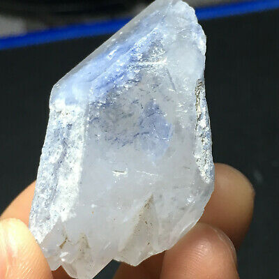 35g*Natural Crystal BLUE  Dumortierite in Quartz Point From Brazil *2.15