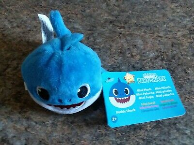 Baby Shark Daddy Blue Pinkfong Mini Plush New Soft Animal