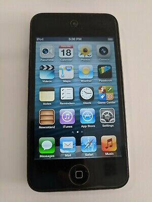 Apple iPod Touch 4th Generation 64GB Black A1367