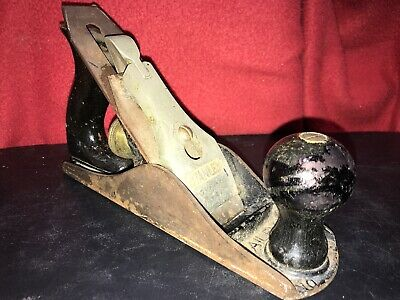 Vintage STANLEY Bailey No.3 Woodworking Plane USA 9-1/4'' x 2-1/8'' Wide Tool