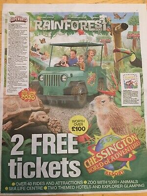 The 2 Free Tickets to Chessington
