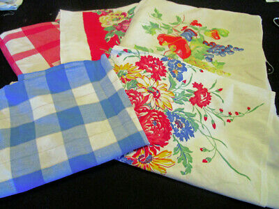 5 Vintage Mid Century Tablecloth Cutters