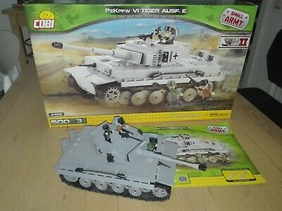 COBI 2462 Panzerkampfwagen VI Tiger Ausf. E Small Army World War II